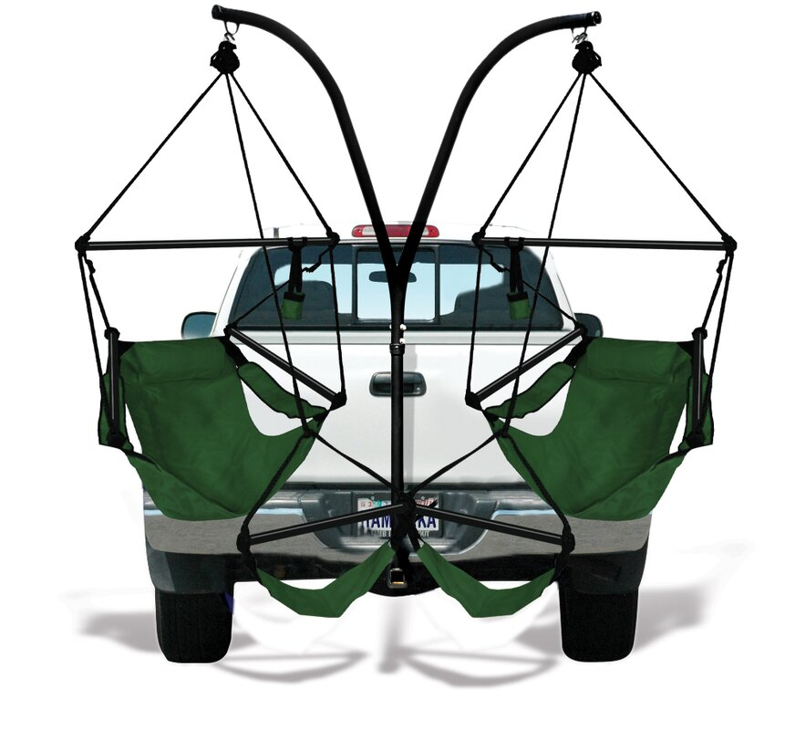 Trailer Hitch Stand Cotton Chair Hammock With Stand
