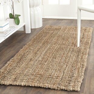Joss Main Essentials Loom Natural Area Rug