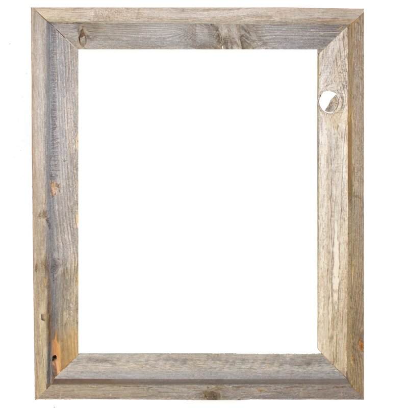 Superbe Banjo Reclaimed Barn Open Picture Frame