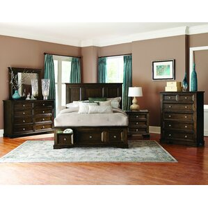 Espresso Queen Bedroom Sets You\'ll Love | Wayfair