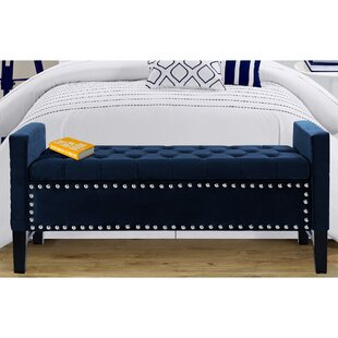 Online Reviews Lance Upholstered Storage Bench By Iconic Home