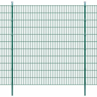 Collette 2D 138' X 7' (42m X 2.23m) Picket Fence Panel By Sol 72 Outdoor