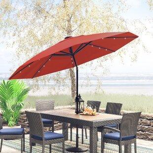 Jericho 9' Lighted Umbrella by Zipcode Design