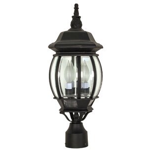 Price Check Mackintosh 3-Light Outdoor Lantern Head By Alcott Hill