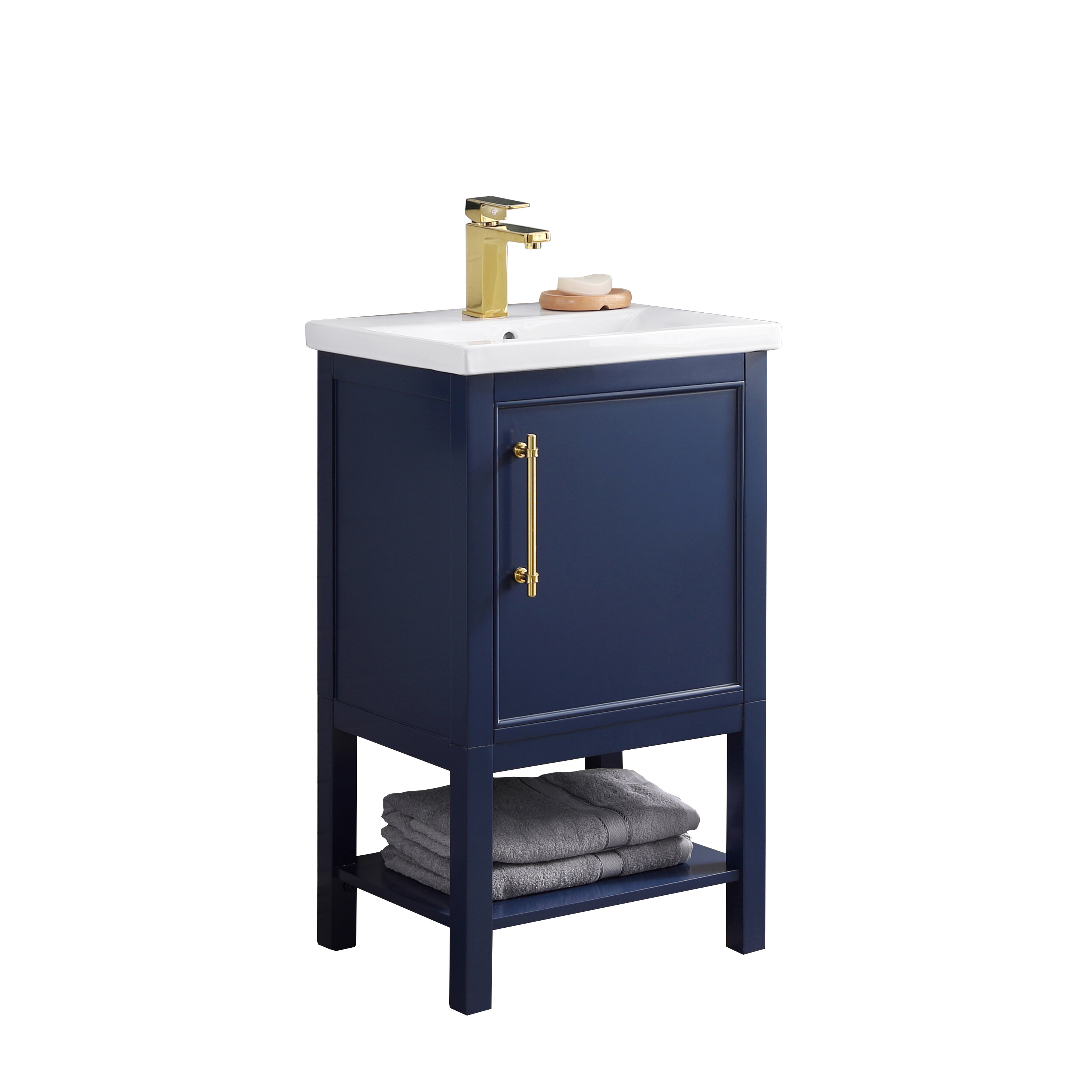 Mercer41 Briaca 20 Single Bathroom Vanity Reviews Wayfair