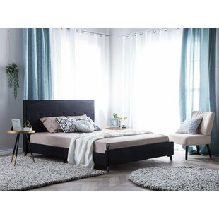Lyndon Upholstered Bed Frame By Mercury Row
