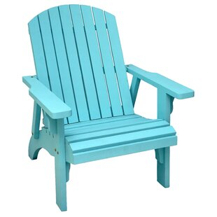 Casual Elements Solid Wood Adirondack Chair
