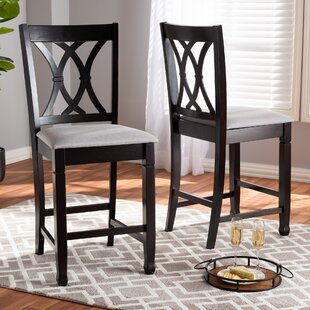 Affordable Botts Fabric Upholstered 25 Bar Stool (Set of 2) by Canora Grey Reviews (2019) & Buyer's Guide