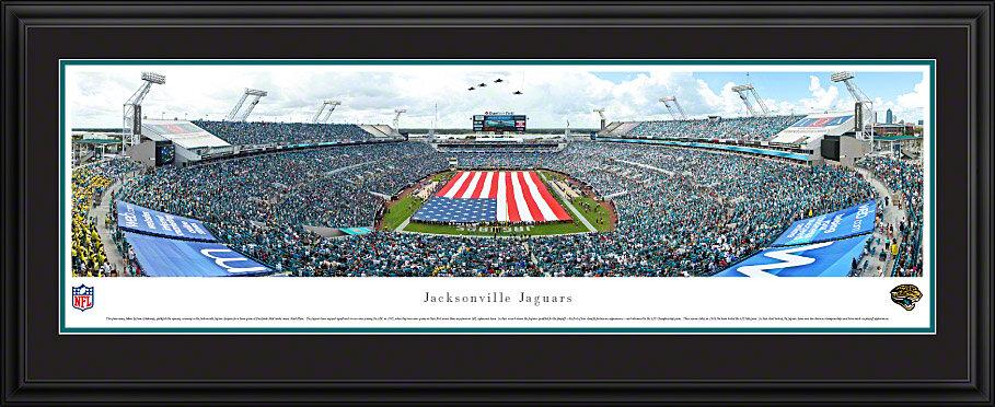 Vault W Artwork Nfl Jacksonville Jaguars Opening Ceremony Deluxe By James Blakeway Framed Photographic Print Wayfair