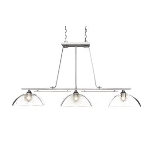 17 Stories Sinclaire 3-Light Kitchen Island Pendant