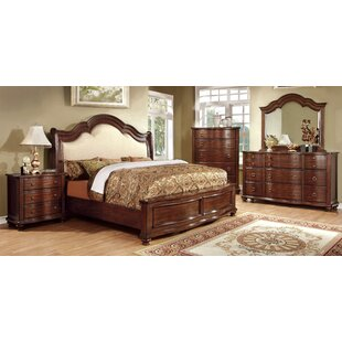 Astoria Grand Harrelson Upholstered Panel Bed