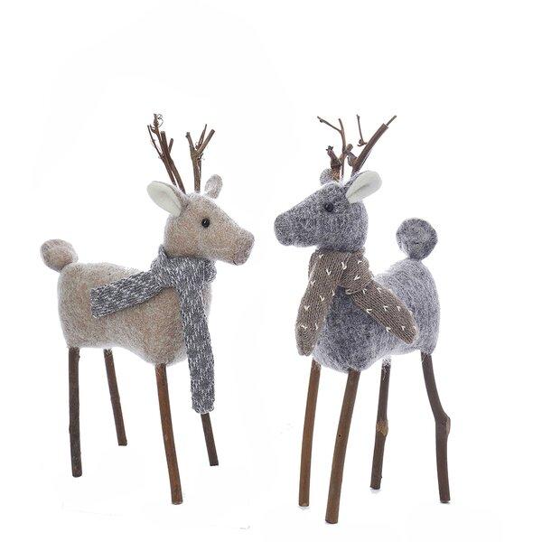 Christmas Deer Ornaments Wayfair