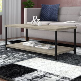 Comet Coffee Table with Tray Top