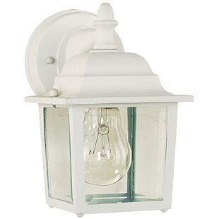 Three Posts Fry 1-Light Outdoor Wall Lantern