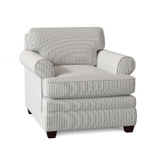Living Your Way Rolled Armchair by Wayfair Custom Upholstery