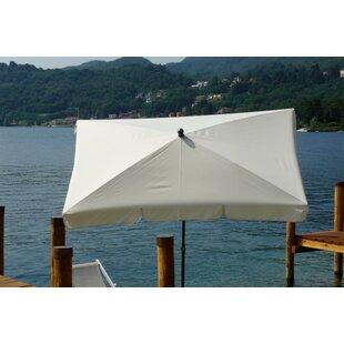 Pepinn 2.4m X 1.5m Beach Parasol By Sol 72 Outdoor
