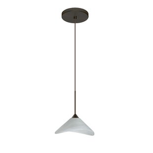 Besa Lighting Hoppi 1 Integrated Bulb Mini Pendant