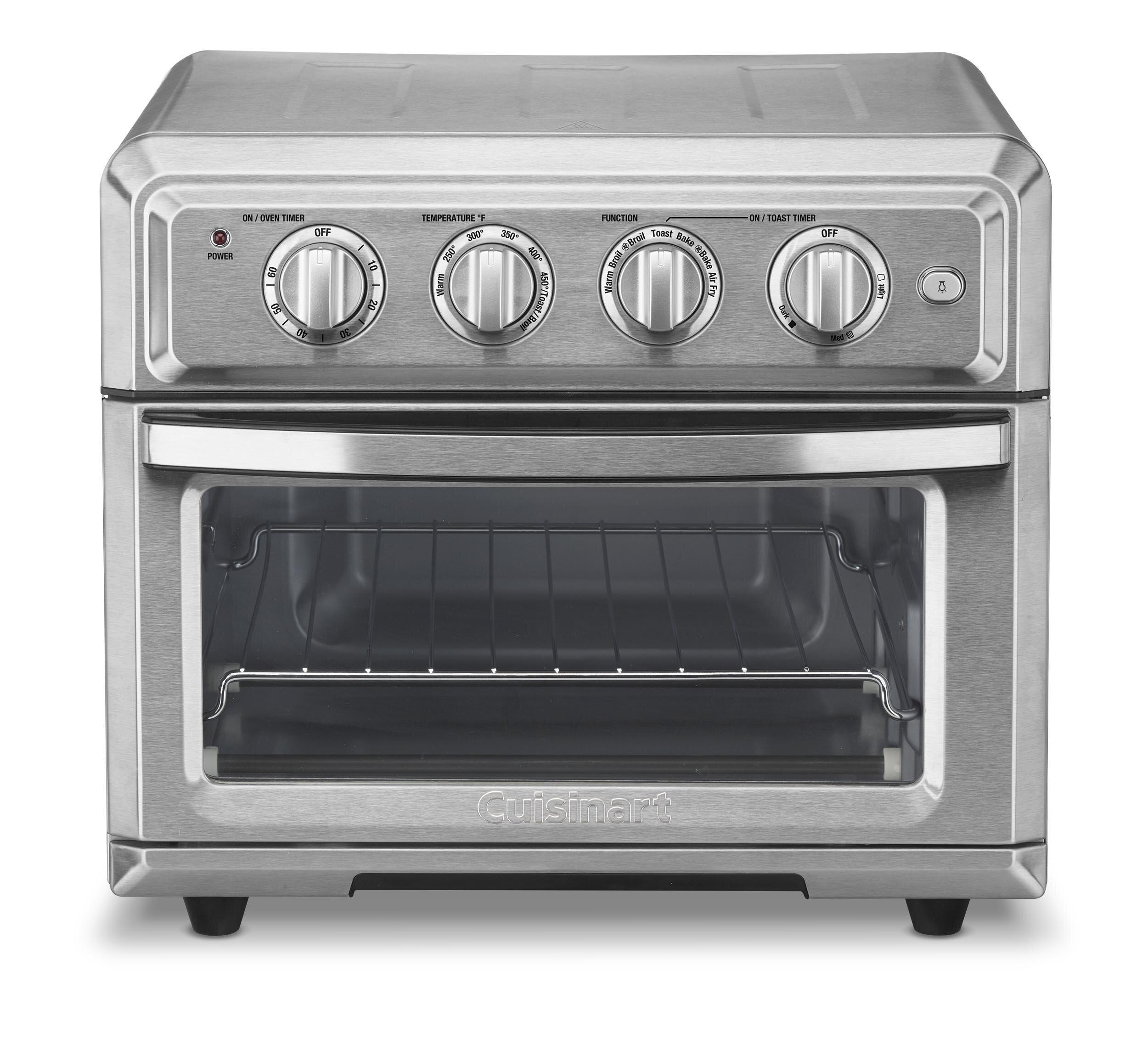 Cuisinart 0 6 Cu Ft Air Fryer Toaster Oven Amp Reviews