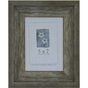 Pedersen Rustic Barnwood Document Picture Frame