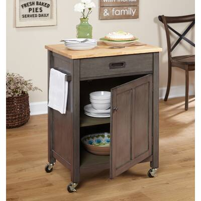 Canora Grey Todd Kitchen Cart Wayfair