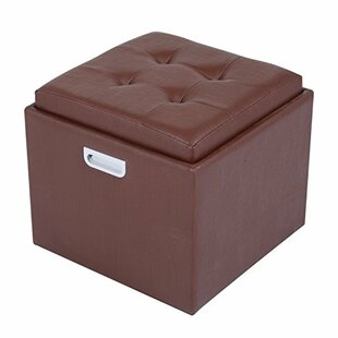 Best Reviews Cherina Storage Ottoman By Ebern Designs