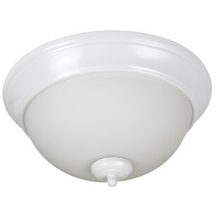 Charlton Home Byron 2-Light Bowl Flush Mount