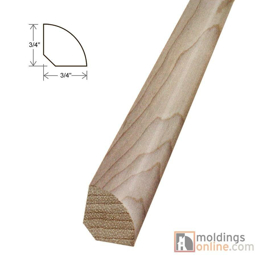 Moldings Online 0 75 X 0 75 X 96 Quarter Round Wayfair