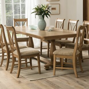 Extendable Dining Table And 6 Chairs By August Grove