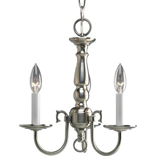Alcott Hill Doyle 3-Light Candle Style Ch..
