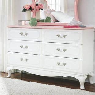 Looking for Stamp 6 Drawer Double Dresser by Harriet Bee Reviews (2019) & Buyer's Guide