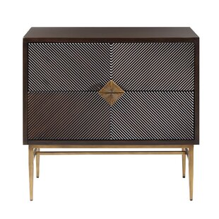 Langley Street Tobias 2 Drawer Accent Chest