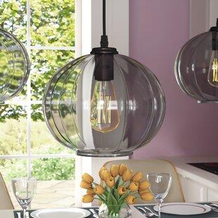 Ebern Designs Bonilla 1-Light Globe Pendant