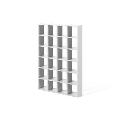 Brayden Studio Ottley Composition Cube Unit Bookcase Finish: Pure White