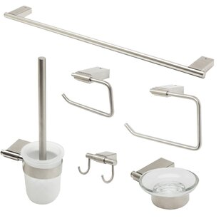 Read Reviews Matching 6 Piece Bathroom Accessory Set By Alfi Brand