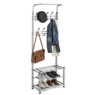 Multi-Purpose 18 Hook Coat Rack By Symple Stuff