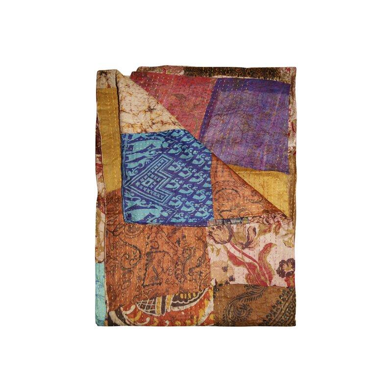 Bloomsbury Market Moorebank Silk Blanket Wayfair