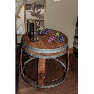 Reclaimed Wine Barrel Tables Wayfair
