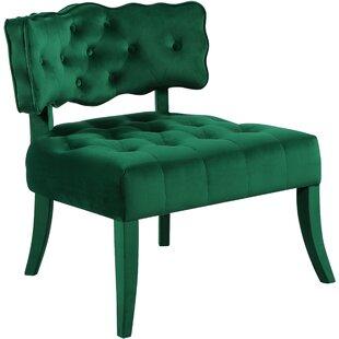 Everly Quinn Fairway Slipper Chair