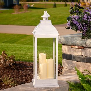 Avalon Triple Pillar Lantern by Smart Living