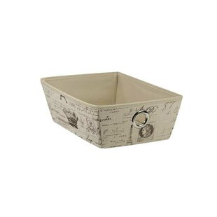 Paris Non-Woven Open Storage Box (Set of 2) By Home Basics