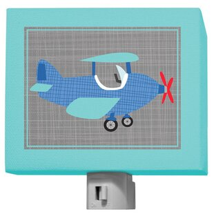 Oopsy Daisy Ways To Wheel - Airplane Night Light