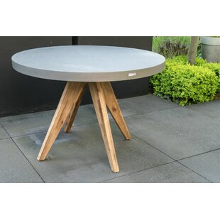 Woodbridge Concrete Bistro Table By Sol 72 Outdoor