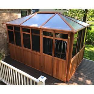 Solarus 13 Ft. W x 9 Ft. D Solid Wood Patio Gazebo by Westview Manufacturing