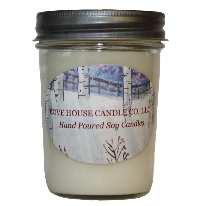 8oz Twisted Peppermint Soy Candle