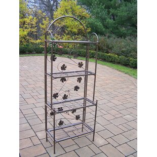 Lavone Steel Baker's Rack by Red Bar..