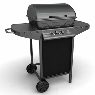 49cm 2 Burner Liquid Propane Barbecue Grill By Symple Stuff