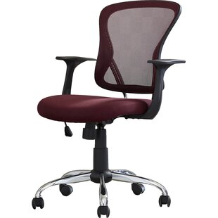 Review Clay Mid-Back Mesh Desk Chair by Symple Stuff