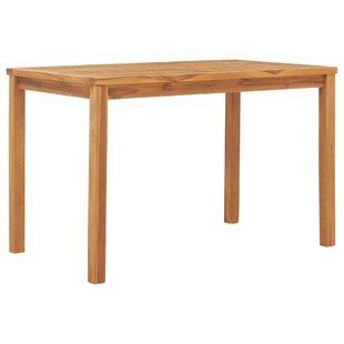 Maliha Teak Dining Table Image