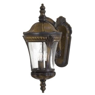 Affordable Kent Place 3-Light Outdoor Wall Lantern By Great Outdoors by Minka