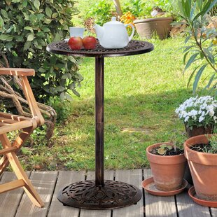 Athena Outdoor Cast Aluminum Bar Table